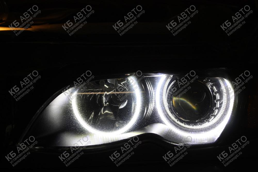 "<span class=""entry-title-primary"">BMW E46</span> <span class=""entry-subtitle"">Установка светодиодных колец </span>"