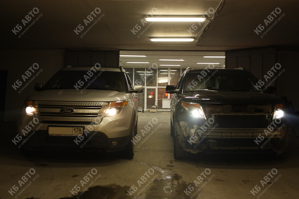 """<span class=""""entry-title-primary"""">FORD EXPLORER 5</span> <span class=""""entry-subtitle"""">Переделка фар + омыватель фар.</span>"""