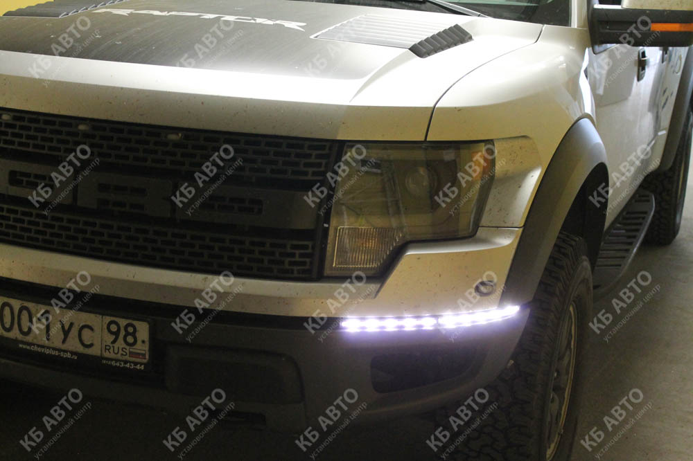"""<span class=""""entry-title-primary"""">FORD F150 RAPTOR</span> <span class=""""entry-subtitle"""">Установка DRL NOLDEN</span>"""
